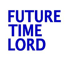 Doctor Who - Future Time Lord Photographic Print