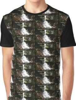 Sheldon Reynolds Falls Color Side Graphic T-Shirt