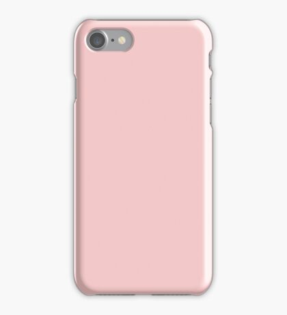 Rose Quartz | Pantone Color of the Year 2016 | Solid Color iPhone Case/Skin