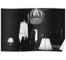 White House Chandelier Poster