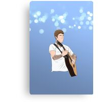 Justin Bieber Performing Phone Case Canvas Print