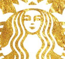 starbucks gold Sticker