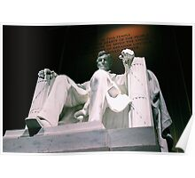 Lincoln Memorial - Tinted Poster