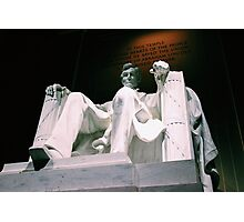 Lincoln Memorial - Tinted Photographic Print