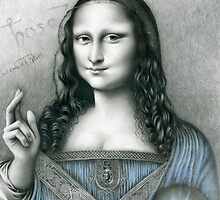 'The Da Vinci Codex' - (those who see) by lesleycsage