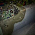 Supermarine Spitfire Cockpit by Nigel Bangert