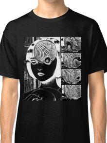 Junji Ito - Uzumaki Inverted Shirt Classic T-Shirt