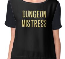 Dungeon Mistress (Gold Version) Chiffon Top