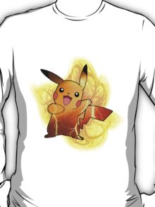 Pikachu (with background) T-Shirt