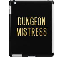 Dungeon Mistress (Gold Version) iPad Case/Skin