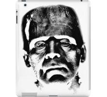 Frankenstein's Monster. Spooky Halloween Digital Engraving Image iPad Case/Skin