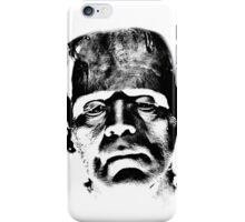 Frankenstein's Monster. Spooky Halloween Digital Engraving Image iPhone Case/Skin