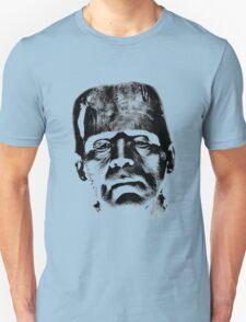 Frankenstein's Monster. Spooky Halloween Digital Engraving Image Unisex T-Shirt