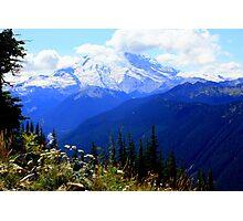 Mount Rainier Photographic Print
