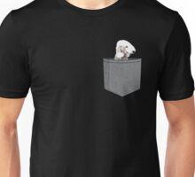 Bedlington Terrier Grey Pocket Tee Unisex T-Shirt