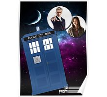 Twelve & Companion Greeting card Poster