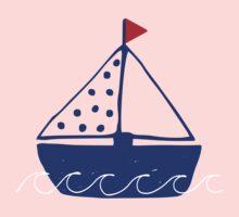 Sailing away One Piece - Short Sleeve