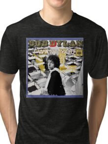 Bob Dylan Abstract variation Tri-blend T-Shirt