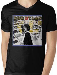 Bob Dylan Abstract variation Mens V-Neck T-Shirt
