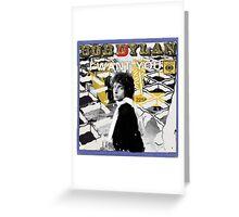Bob Dylan Abstract variation Greeting Card