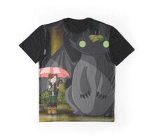 Art of Totoro Graphic T-Shirt