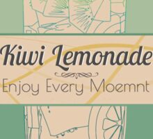 Kiwi Lemonade-vintage design Sticker