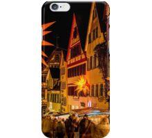 Tübingen at Christmas 3 iPhone Case/Skin