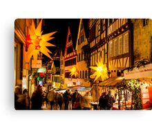 Tübingen at Christmas 3 Canvas Print