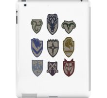Skyrim Hold Logos iPad Case/Skin