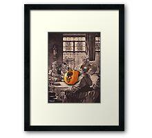 Halloween monks Framed Print