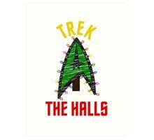 Trek the Halls  Art Print