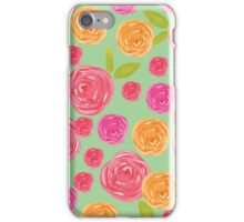 Roses popping up everywhere iPhone Case/Skin