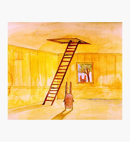 Magic Stair (illustration from the book) Photographic Print