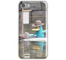Perry Agent P Phineas Ferb Platypus  iPhone Case/Skin