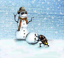 Snowman by AnnaShell