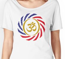 Hindu American Multinational Patriot Flag Series 1.0 Women's Relaxed Fit T-Shirt