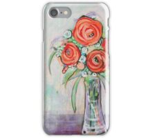 Abstract Floral Still life iPhone Case/Skin