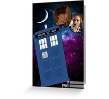 Eleven & Companion Greeting Card