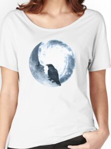 The Crow And Its Moon  Women's Relaxed Fit T-Shirt