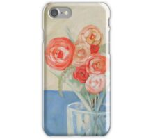 Abstract Flora iPhone Case/Skin