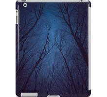 I Have Loved the Stars too Fondly (Night Trees Silhouette Abstract 2) iPad Case/Skin
