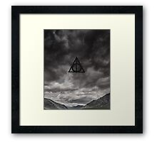 Harry Potter, Deathly Hallows symbol Framed Print