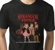 Stranger Than Things Tee T-Shirt Tri-blend T-Shirt