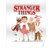 Stranger Than Things Tee T-Shirt Poster