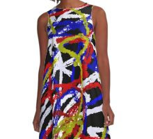 Abstract 5502 Version 2 A-Line Dress