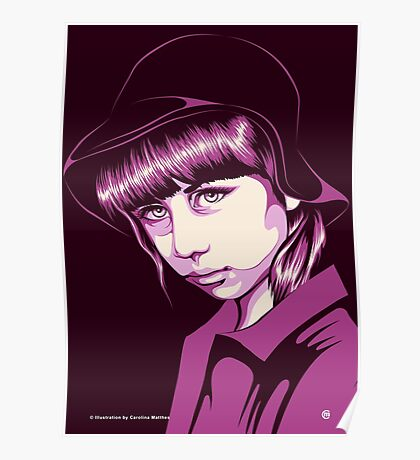 Pop Art Portrait Poster