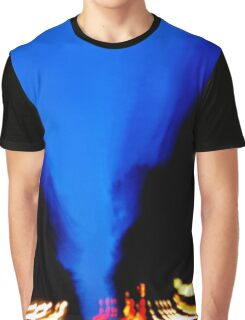 Drag Marks Graphic T-Shirt