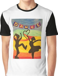 Dance in the Sunset Graphic T-Shirt