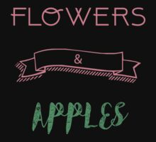 Flowers and Apples Kids Tee