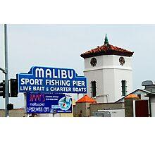 Pacific Coast Highway Malibu, California Photographic Print